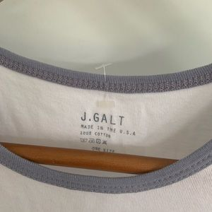 Brandy Melville Tops - Brandy Melville / J. Galt Baby TShirt 👶🏼 NWOT